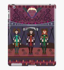 Marsian Squadron Tapestry 01 iPad Case/Skin
