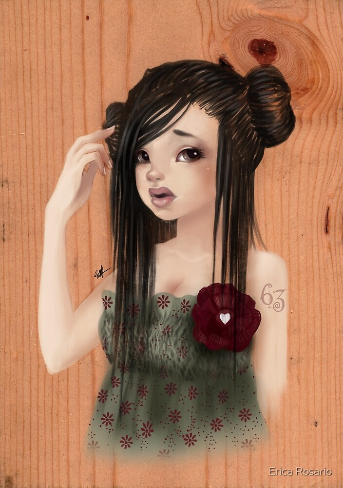 Girl 63 |  Free Topic (Summer Dress) by Erica Rosario