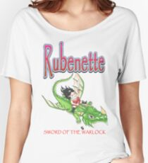Gareth Luby's Rubenette cover Women's Relaxed Fit T-Shirt