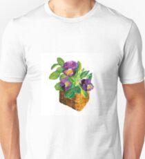 Pansies Unisex T-Shirt