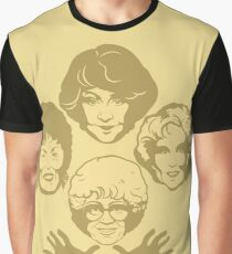 Miami Royalty Golden Edition Graphic T-Shirt