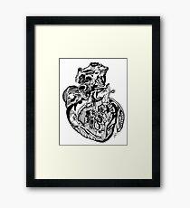 Car·di·o·vas·cu·lar Framed Print