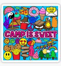 Camp Is Sweet Sticker