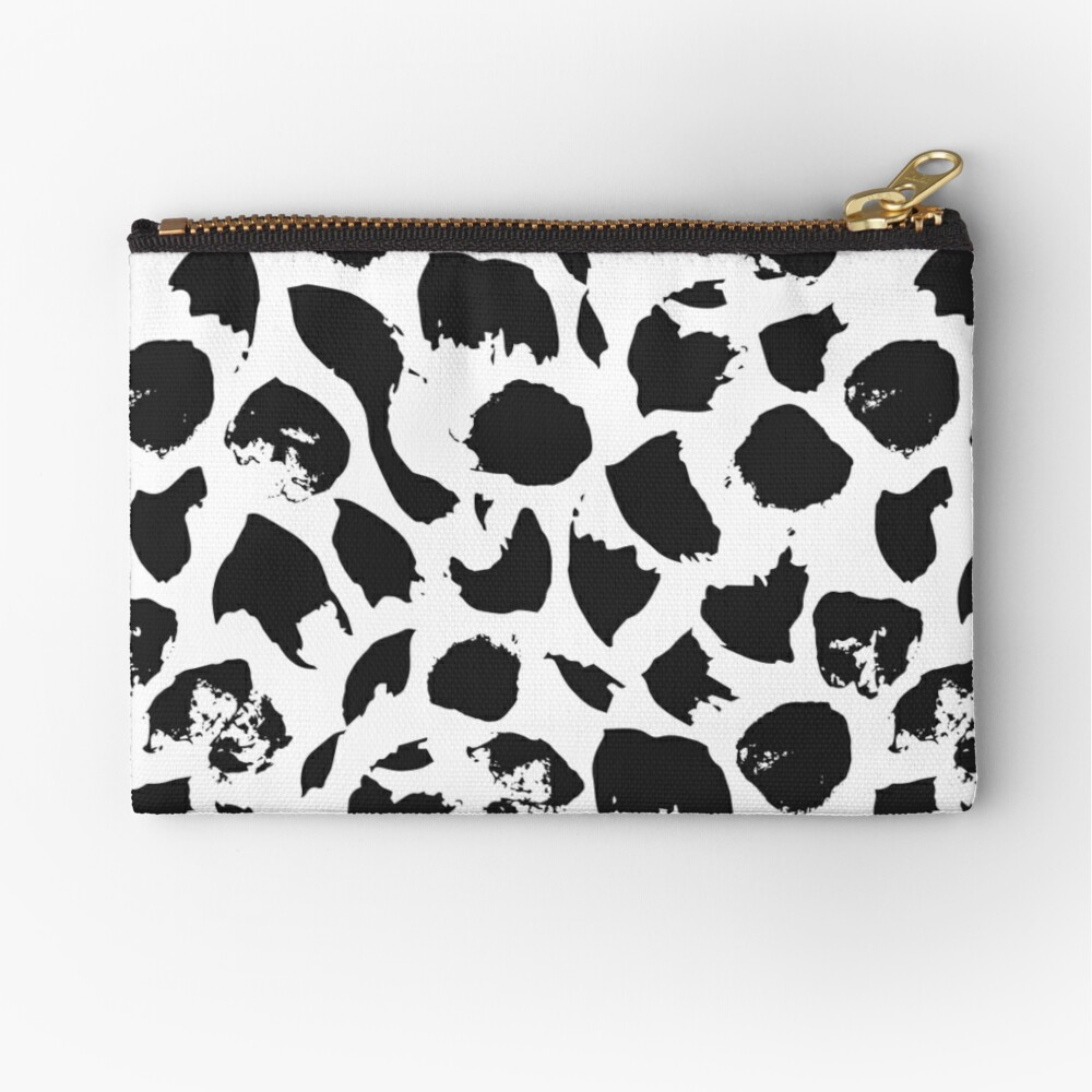 Abstract pattern Zipper Pouch