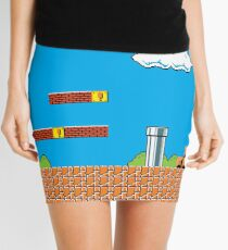 Vintage Game Tribute Mini Skirt