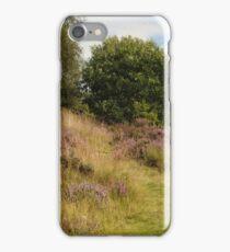Purple Heather and Grassy Path iPhone Case/Skin