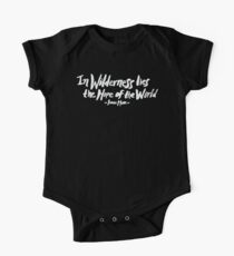 Wilderness Hope x John Muir Kids Clothes