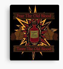Taste The Old Blood Canvas Print
