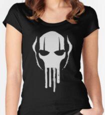 Grievous Mask Fitted Scoop T-Shirt