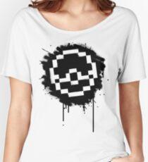 Pokeball Spray paint Women's Relaxed Fit T-Shirt