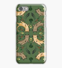 Veggie Cats iPhone Case/Skin