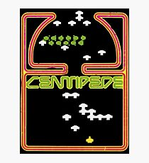 Centipede Retro  Photographic Print