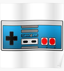 The Classic Nerd Controller Poster