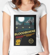 Bloodborne NES nintendo Women's Fitted Scoop T-Shirt