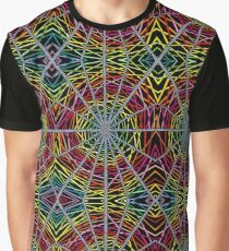 Psychedelic Abstract colourful work S10(Tile) Graphic T-Shirt