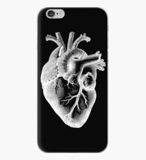 Anatomical Heart - White Outline iPhone Case