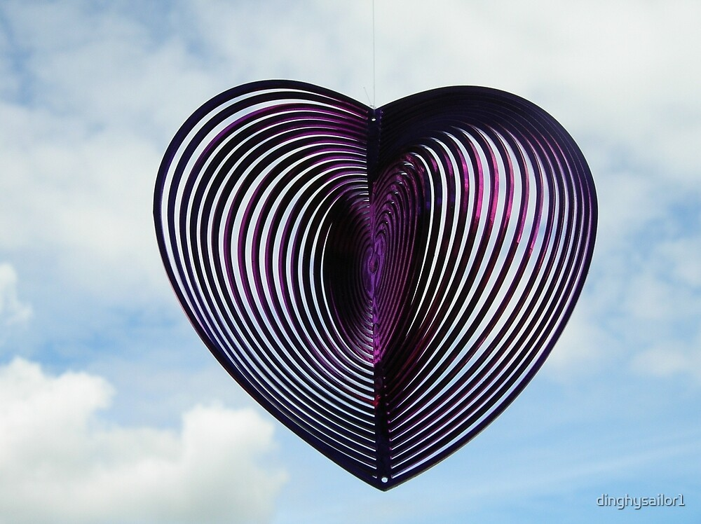 heart on a string by dinghysailor1