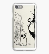 Fear and Loathing art - Ralph Steadman iPhone Case/Skin