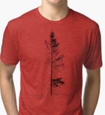 aspen solitude silhouette design Tri-blend T-Shirt