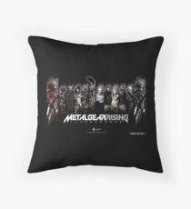 Metal Gear Rising Throw Pillow