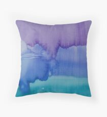 Moon From Day Into Night Throw Pillow