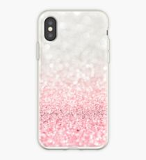 Pink Ombre Glitter iPhone Case