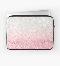 Pink Ombre Glitter Laptop Sleeve