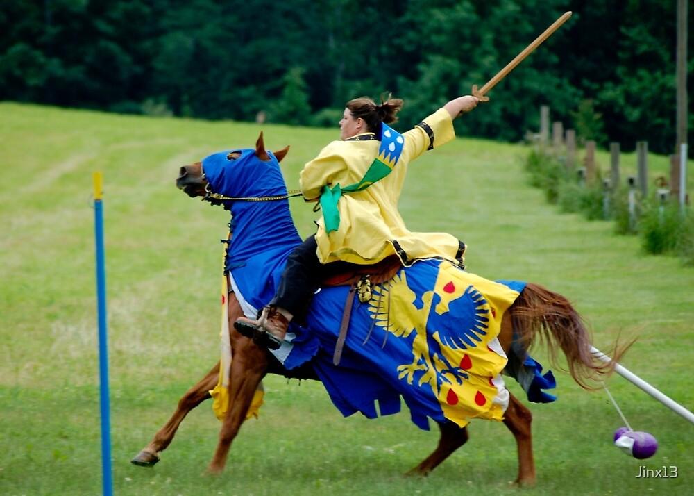 Equestrian Champion by Jinx13