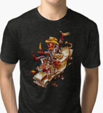 Jerry and the Bandit. Awesome mashup. Tri-blend T-Shirt