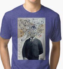 mr mechanoid Tri-blend T-Shirt