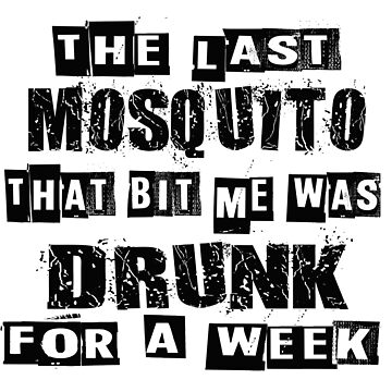 Drunk Mosquito by superiorarts