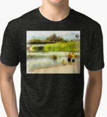 Brothers, Best Friends Tri-blend T-Shirt
