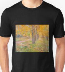 Yellow-leafed Poplars by Kuroda Seiki T-Shirt