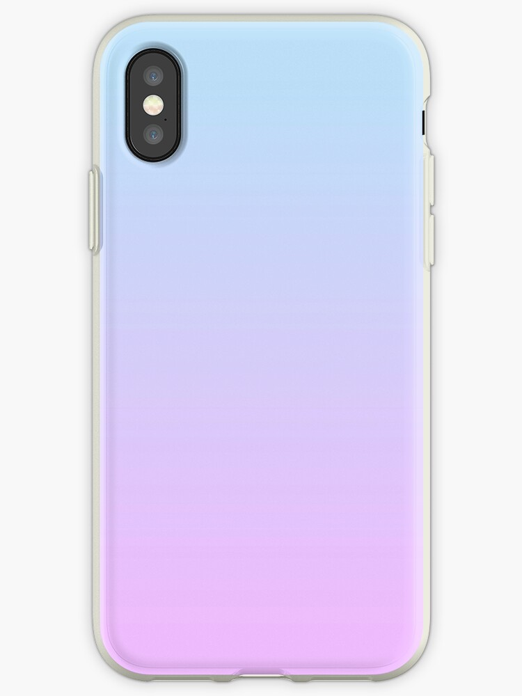 the latest 8e7ca 4a512 'Gradient - Pastel blue/Lilac' iPhone Case by liminalspaces
