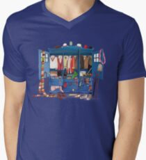 The Who-drobe Men's V-Neck T-Shirt