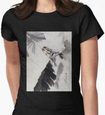 Watanabe Seitei Three Birds on Branch T-Shirt
