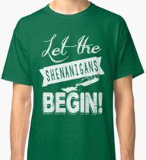 Saint Patricks Day Shenanigans Classic T-Shirt