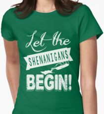Saint Patricks Day Shenanigans Women's Fitted T-Shirt