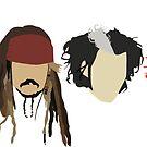 «Johnny Depp - Personajes» de SarGraphics