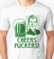 Irish Cheers For Saint Patricks Day T-Shirt