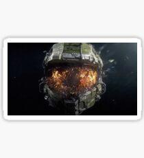 Halo Master Chief Sticker Sticker