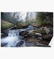 Mountain Stream - Blue Ridge Parkway Poster