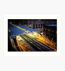 Chicago CTA Art Print