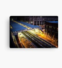 Chicago CTA Canvas Print