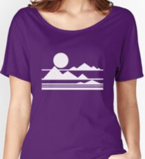 Mountains Women's Relaxed Fit T-Shirt