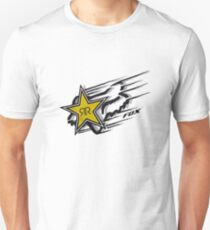 Fox and Rockstar Energy Drink Logo T-Shirt