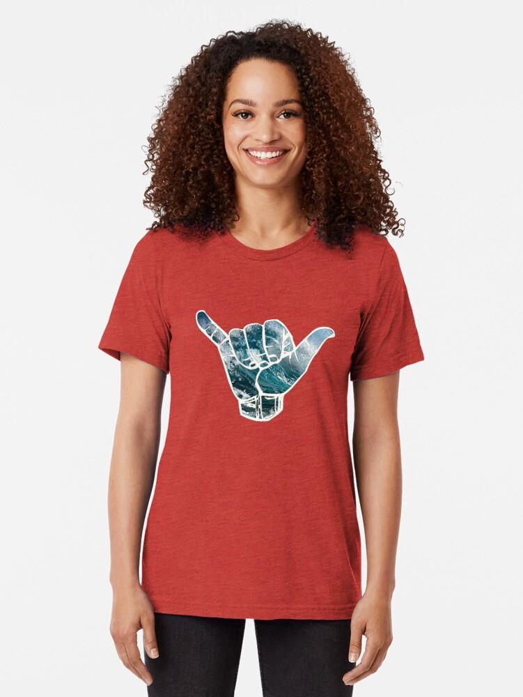Alternative Ansicht von Hang lose Vintage T-Shirt