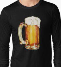 Bier Pattern T-Shirt