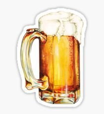 Bier Pattern Sticker