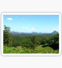 Glasshouse mountains (2) Sticker